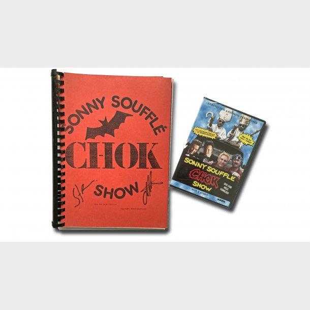 ORIGINALT SONNY SOUFFLÉ CHOK SHOW MANUSKRIPT + DVD