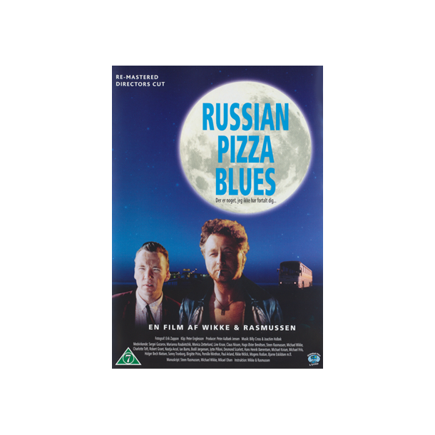 Russian Pizza Blues re-mastered DVD